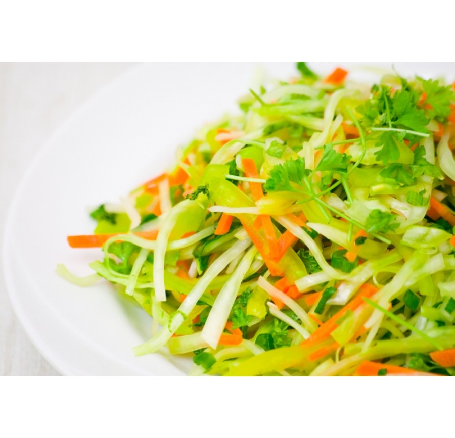 Salad with cabbage&carrots