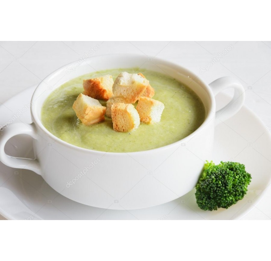 Broccoli cream-soup