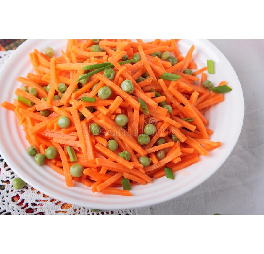 Carrot&peas salad