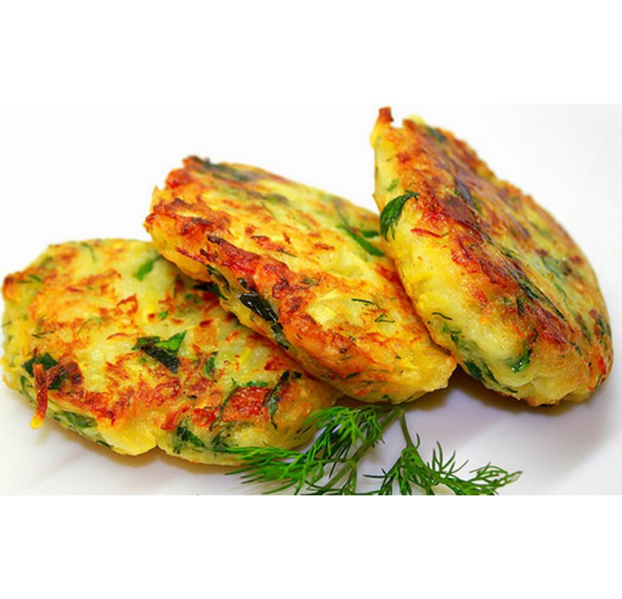 Cutlets with squash