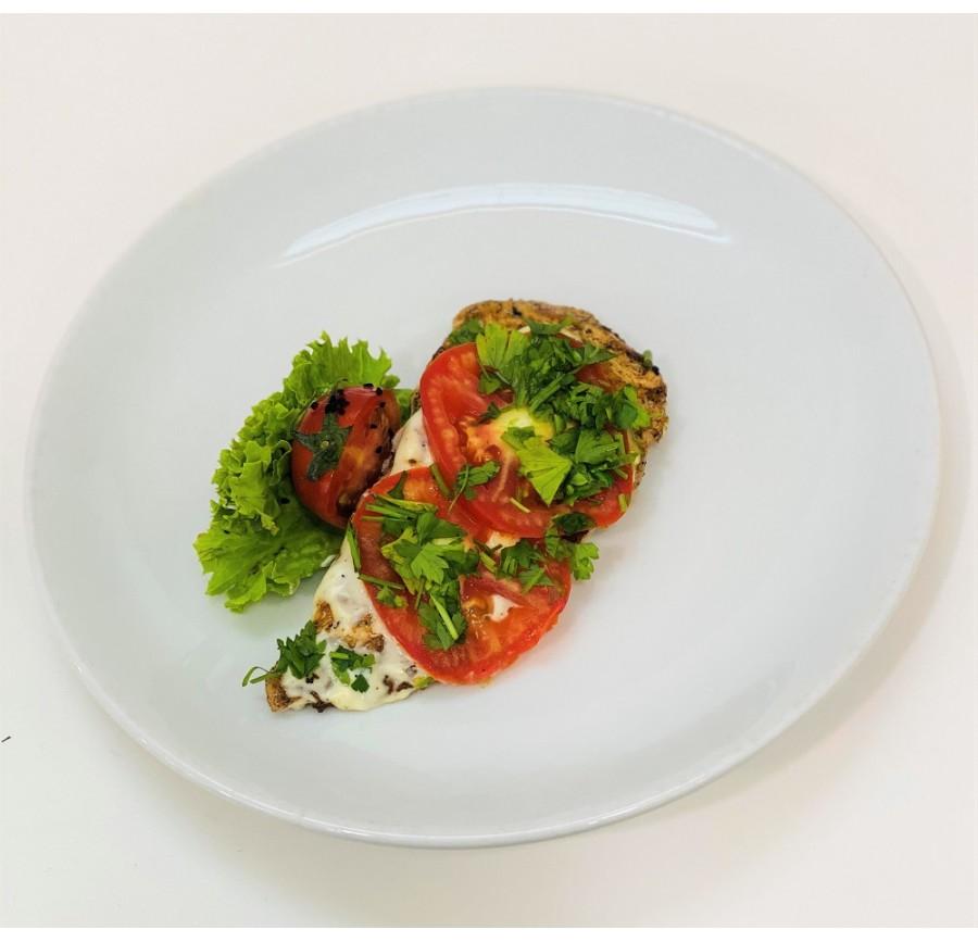 Հավը բանջարեղենով