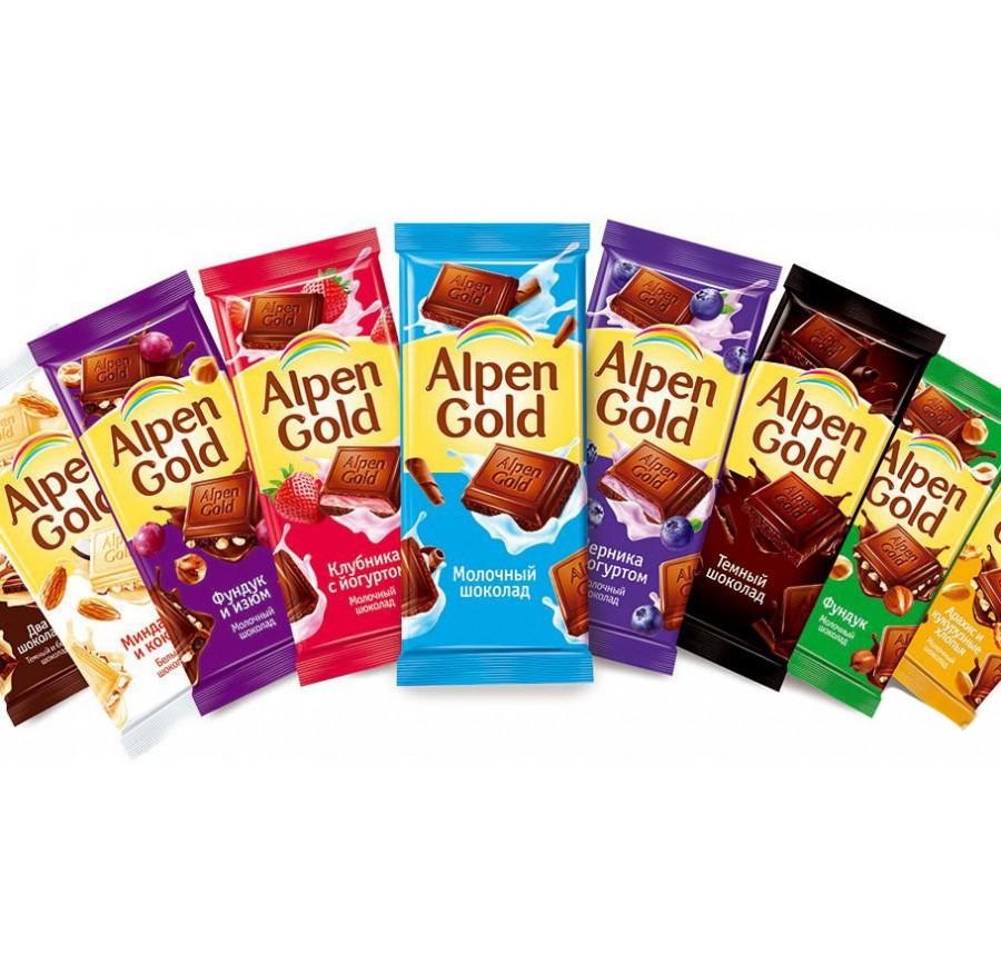 Շոկոլադե սալիկ Aplen Gold